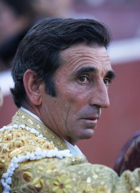Foto del torero Dámaso González