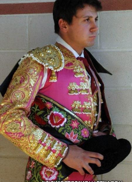 Foto del torero Alberto Gómez