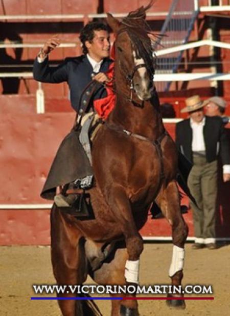 Foto del torero Mario Pérez Langa